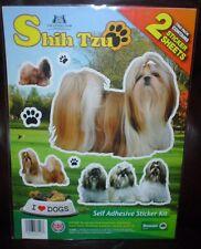 Kennel Club Shih Tzu Dog Stickers
