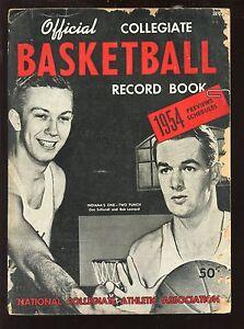 1954 NCAA Collegiate Basketball Record Book / Guide