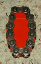 MOTORCYCLE CHAIN - ELECTRONIC LIGHTER - RE-FILLABLE