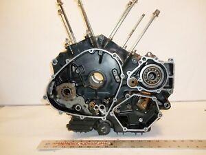 KAWASAKI 85 VN700 LTD ENGINE CRANKCASE SET 14001-5211 VN 700 VULCAN 1985 jh
