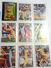 1994/95 Futera International Cricket Cards Complete Set Trading Collectable