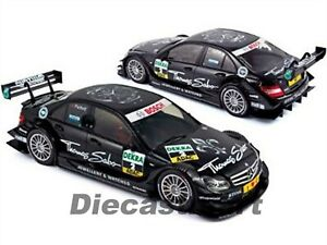 Mercedes C Clase DTM 2011 #2 Paffet 1:18 Coche de Metal Modelo Por NOREV 183584