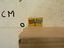 STICKER,DECAL NOORWEGEN   COUNTRY FLAG  FINISH FLAG  VINTAGE SLOTCAR RACING ?
