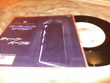 """DEEP PURPLE """"CALL OF THE WILD/DEAD OR ALIVE"""" 7"""" PROMO JAPAN"""