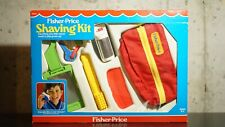 Vtg Fisher Price SHAVING KIT COMPLETE MINT 1985 Toy #2000