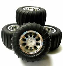 Roues noirs pour véhicule radiocommandé Tamiya