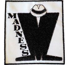 Madness SKA Band Black & White 2 Tone MOD Scooterist Iron/Sew On Cloth Patch NEW