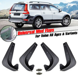 Front Rear Mud Flaps Mudguard Splash Guards Mudflaps For Volvo C30 V40 V50 XC70