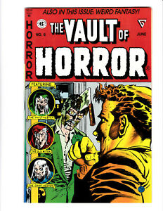 Vault of Horror #6 EC reprint (Gladstone) 1991 NM 9.4 Johnny Craig Zombie cover.