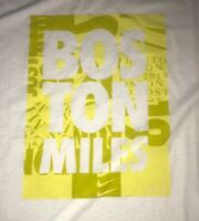 Large Men's Nike Running Boston Miles Marathon Breathe 2019 Shirt CI1540-100 NWT