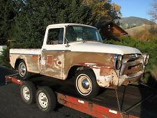 1957 International Golden Jubilee Pickup Truck Chevrolet Cameo Dodge Sweptside