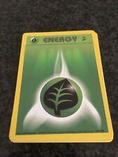 10 Original Pokémon Base Set 2 Grass Energy Cards (127/130)