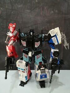 Transformers IDW Protectorbot Defensor Combiner Complete Set