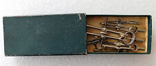 Viintage technical drawing tools instruments Guinness Bomaster Temple Xoni Inox