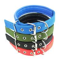 Large Medium Small Dog Collar Pet Puppy Cat Safety Nylon Adjustable Necklace US