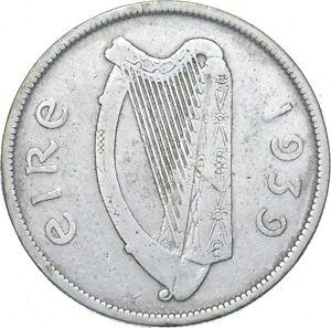 Better - 1939 Ireland 1/2 Coroin - TC *180