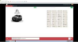DIAGBOX v9.68 Vm Lexia 3 Peugeot Citroen