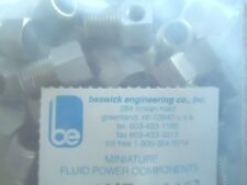 "Beswick Engineering MPAT-1810-303 (1 Bag of 100 pcs) Tee Adapter 1/8"" NPT extern"