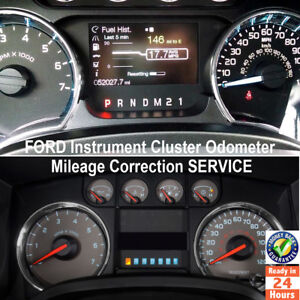 FORD F-Series (F150/250/350/450/5) Instrument Cluster Mileage Correction Service