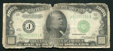 FR. 2211-J 1934 $1,000 ONE THOUSAND FRN FEDERAL RESERVE NOTE KANSAS CITY, MO