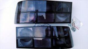 PORSCHE 924 944 CARRERA GT TURBO CABRIO ALL-SMOKED BLACK TAILLIGHTS LIGHTS