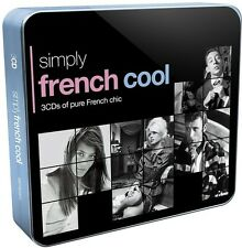 Simply French Cool - 3 DISC SET - Simply French Cool (2014, CD NEUF)