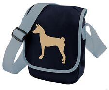 More details for basenji dog walkers bag shoulder bags handbags birthday gift barkless dog gift