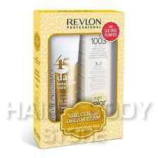 COLOR DREAM TEAM GOLDEN BLONDES Shampoo Nutri colore RCC REVLON capelli colorati