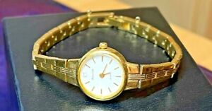 Accurist Watch Ladies Vintage Butterfly Clasp Cal.3N20