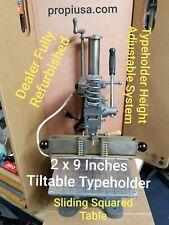 Hot Foil Stamping Machine KWIKPRINT 86 Lightly Used Typeholder 2