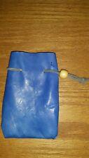 Leather dice bag, medium size ,coin pouch, Larp, Cosplay, renaissance festival