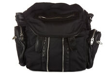 ALEXANDER WANG WOMEN'S RUCKSACK BACKPACK TRAVEL NEW MINI MARTI BLACK 4CE
