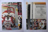 1996-97 Donruss JV Vanbiesbrouck John  MISCUT RARE RARE HOT panthers