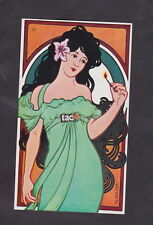 Ancienne étiquette allumettes Allemagne  BN29120 Femme