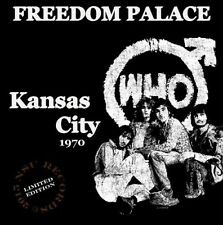 The Who  -  Live in Kansas City, MO. 1970 July 2nd Ltd CD