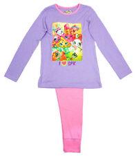 Pyjamas rose pour fille de 2 à 16 ans