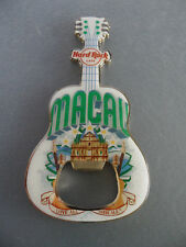 Hard Rock Cafe Macau - Ruins / São Paulo Building  - Guitar Magnet Bottle Opener