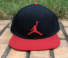 Nike Air Jordan Snapback Cap - OS - Black / red