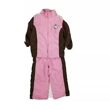 Kidzone Girls I Love Ponies 3T Brown Pink Outfit