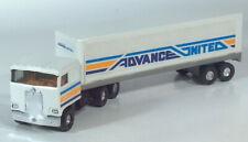 "Ertl Kenworth COE Advance United Semi Truck 11.5"" Pressed Steel Scale Model"
