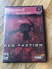 Red Faction Greatest Hits (Sony PlayStation 2, 2002) PS2 Cib H3