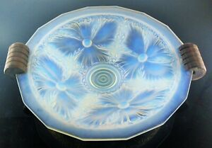 Art Deco Large Cup Glass Mold Opalescent Verlys Etling Sabino France