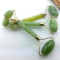 Natural Jape Guasha Facial Beauty Massage Jade Roller Face Thin Massager Tool