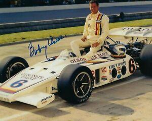 GFA Indianapolis Indy 500 x3 Champion BOBBY UNSER Signed 8x10 Photo B2 COA