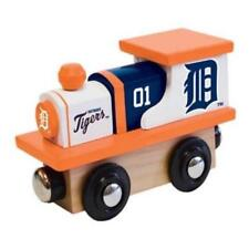 Detroit Tigers Wooden Toy Train [NEW] MLB Wood Christmas Kids Boys Gift Set