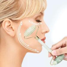 Facial Massage Jade Roller Face Body Head Neck Nature Beauty Device Pr