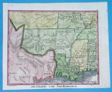 1834 RARE ORIGINAL MAP UNITED STATES TEXAS REPUBLIC KANSAS OKLAHOMA LOUISIANA