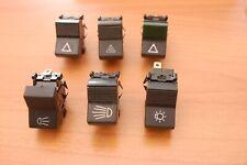Fiat 124 127 128 131 850 Spider X19 X1/9 lights hazard wipers fan switches