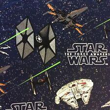 Rpfft86z Star Wars Force Awakens Millennium Falcon Movie Cotton Quilt Fabric
