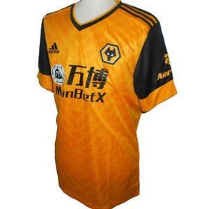WOLVERHAMPTON WANDERERS Adidas Home Football Shirt 2020-2021 NEW Wolves Jersey